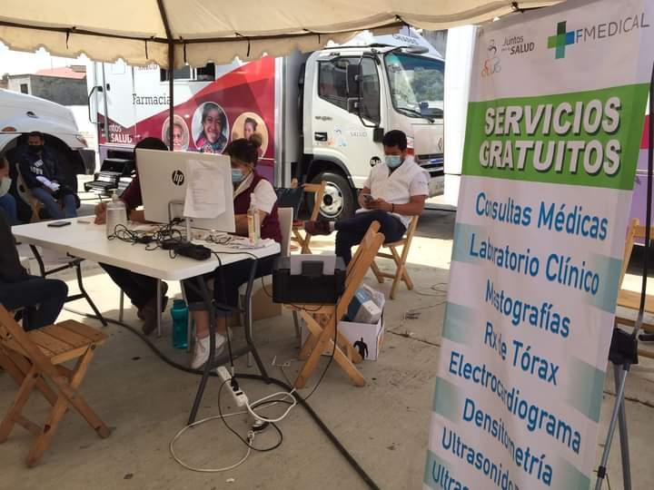 Realizan Convoy de Salud en diferentes puntos de San Cristóbal