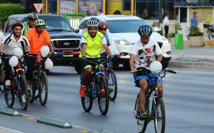 Piden respeto a ciclistas