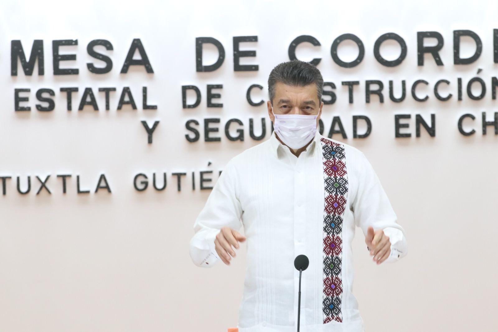 Chiapas avanza con pasos firmes en materia de respeto a los derechos humanos: Rutilio Escandón