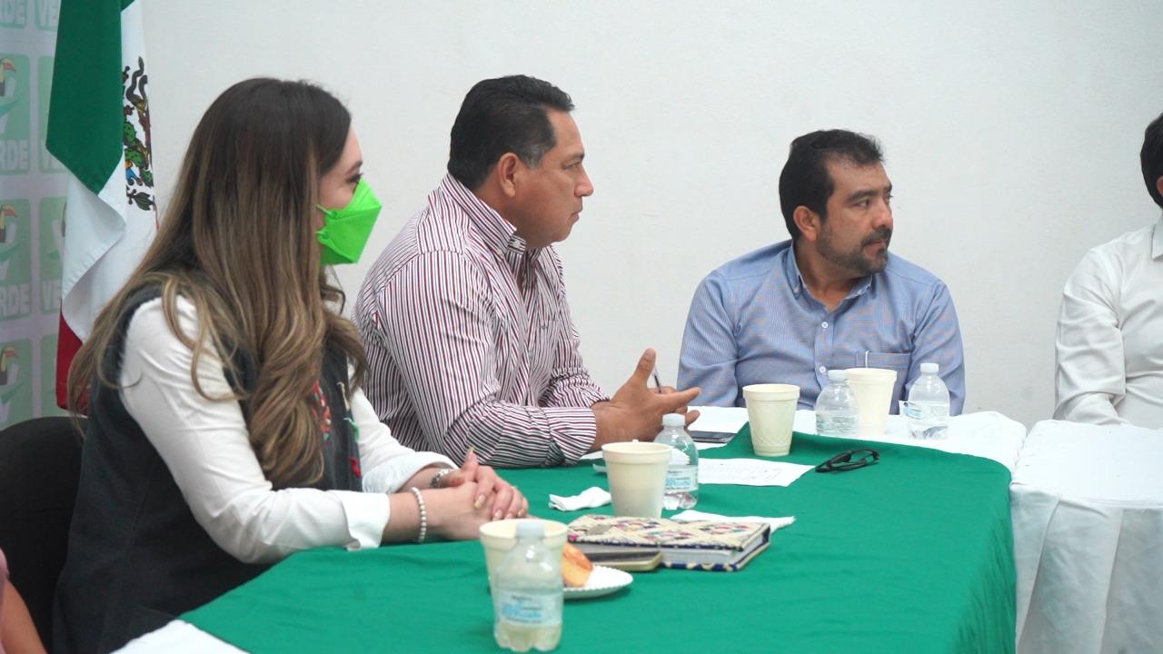 En Chiapas, el partido Verde ya trabaja en una agenda legislativa: Valeria Santiago Barrientos